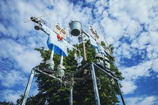 «Станцевать с тенями»: в центре Минска установят 15 гигантских арт-объектов весом в 40 тонн