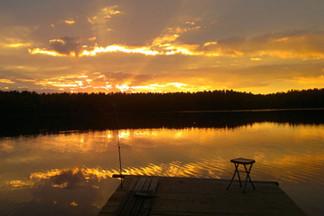 Первый в Беларуси кемпинг — на озере Селява