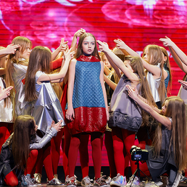 «Скрыжаваннi. Мinsk-2018» Театр мод «KIDS' PODIUM»