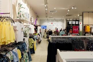 Два больших брендовых магазина O'STIN с одеждой для девушек и парней открылись ТЦ «МОМО»