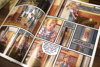 Белорусы создали комикс на мове, чтение которого может улучшить зрение
