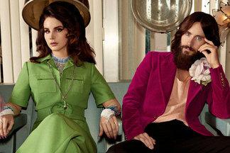 Это очень мило: Джаред Лето и Лана Дель Рей сыграли влюбленную пару в ролике Gucci