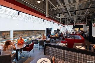 Фотофакт: В ТРЦ Green City открылся новый GARAGE food&coffеe
