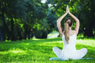 Все лето в парке Победы будут проходить бесплатные занятия по йоге