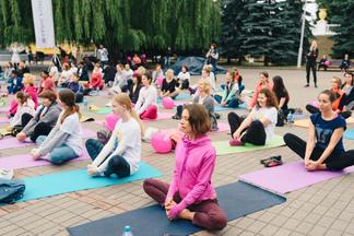 Вас приглашают на праздник йоги в парке Горького 22 июня