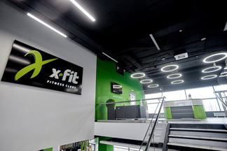 Завтра откроется один из самых больших фитнес-клубов Минска — X-Fit. Вы увидите его первыми