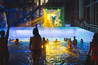 Новогодняя ночь в минском аквапарке: как это будет