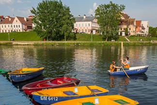 Где можно прокатиться на лодке или катамаране в Минске?