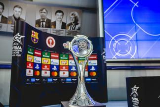 Объявлены итоги жеребьевки финала Лиги чемпионов УЕФА по мини-футболу