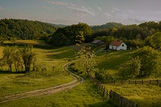 Загородные места с белорусским колоритом