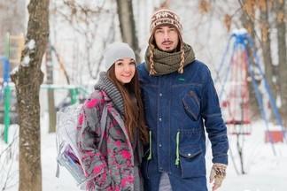 Street Fashion: Дудинский Денис со своей девушкой Катей