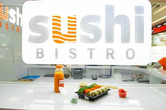Фотофакт: На первом этаже ТРЦ Dana Mall открылось Sushi Bistro