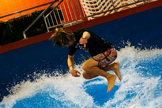 16 марта в минском аквапарке «Лебяжий» прошёл Открытый Кубок Республики Беларусь по флоубордингу
