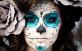 Праздничный грим на Хэллоуин