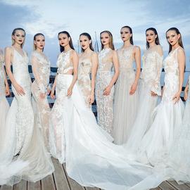 Показ коллекций свадебных платьев от Ange Etoiles и Rara Avis