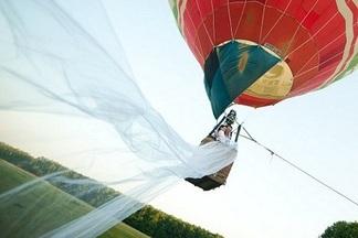 Свадьба in the air: как выиграть бесплатный праздник на воздушном шаре