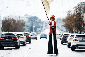 Фотофакт: как 20 тысяч минчан бежали полумарафон