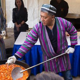 Мастер-класс по приготовлению уйгурского лагмана