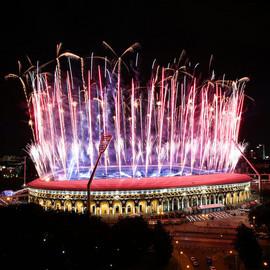 II Европейские игры. Торжественная церемония открытия