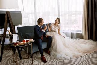 Roof-терраса и комната невесты: 5 причин отметить свадьбу в DoubleTree by Hilton Minsk