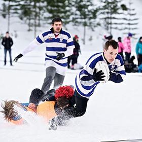 В Степянке пройдут уникальные соревнования «SNOW RUGBY»