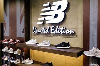Фотофакт: в Минске открылся фирменный магазин New Balance