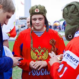 ЧМХ 2014 : Финляндия — Россия