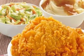 В Texas Chicken появился «домашний обед» за 4,9 рубля и с бесплатным кофе
