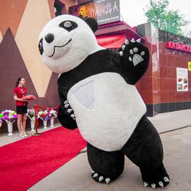 Торжественное открытие ресторана Панда