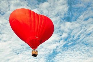 Свадьба? На воздушном шаре? Не-не, не откажусь!