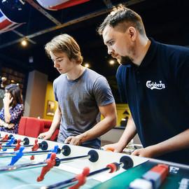 Турнир по настольному футболу FoosFriday by Carlsberg