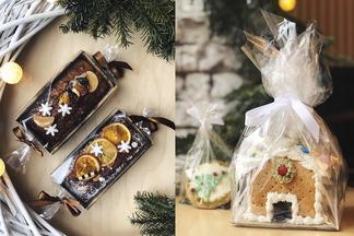Пряничный домик и сливовый пирог. В кафе Let it be можно купить вкусный новогодний подарок