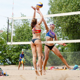 6-й международный турнир по пляжному волейболу «Минское море-2016»