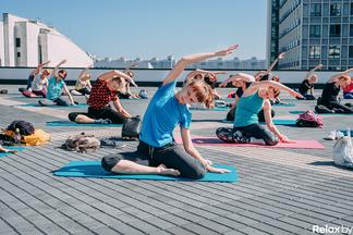 ТРЦ Galleria Minsk завершает сезон тренировок на крыше. Вспоминаем, как это было