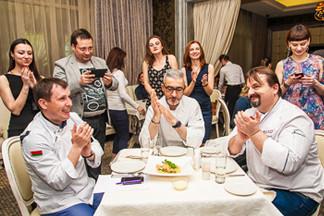 Фотофакт: в Минске прошла кулинарная битва блогеров