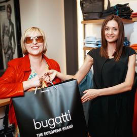 Открытие магазина Bugatti