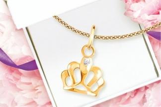 На открытии нового ювелирного магазина Zoloto.by покупателям будут дарить подвески с бриллиантами