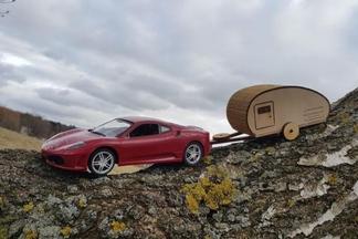 Минчанин придумал проект передвижного дома на колесах в виде капсулы — для мечтателей и путешественников