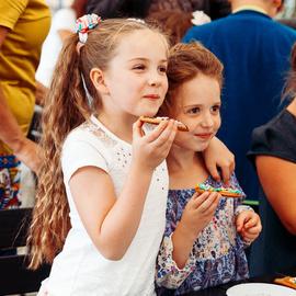 Детский благотворительный праздник