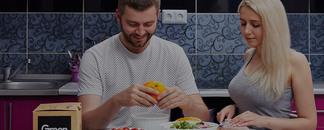 Эксперимент с Green Chef: Сможет ли парень без опыта приготовить ресторанное блюдо и удивить возлюбленную?
