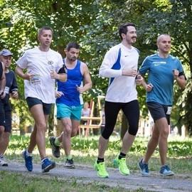Тренировка команды Минского Polo Марафона