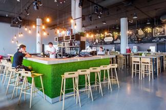 Новое место: «Веранда» — итальянский ресторан с  элементами лофта на  230  посадочных мест