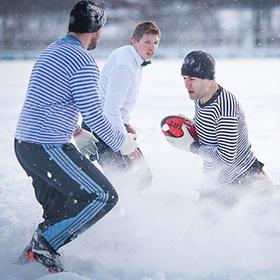 В Степянке сыграют в «Снежное регби»