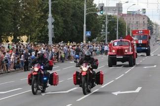 МЧС устроит парад техники на проспекте Независимости