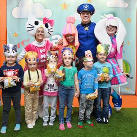 Детский праздник «Парад профессий»