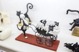 В Минске открылась выставка с частной коллекцией экспонатов, посвященной котикам