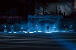 Фотофакт: как мы ходили на генеральную репетицию мюзикла Авербуха «Кармен»