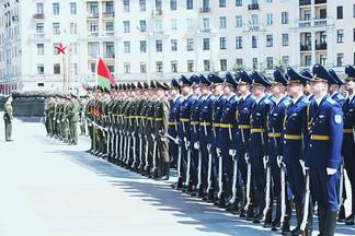 Во время тренировок сводной роты почетного караула будут перекрывать проспект Независимости