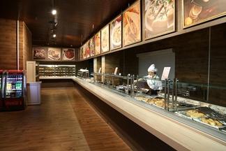 На месте Belvedere открылся одноименный ресторан быстрого обслуживания с кавказской кухней