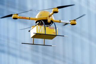 Белорусский сервис запустил доставку еды дроном